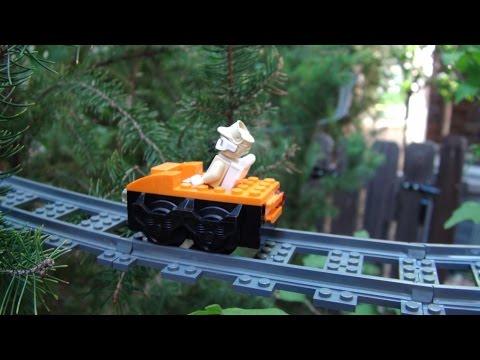 Lego Tree Roller Coaster