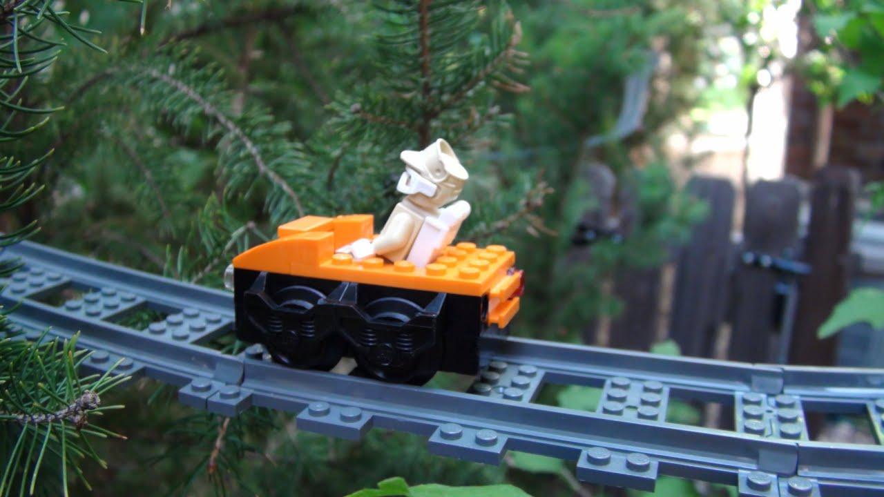 Lego Tree Roller Coaster Youtube