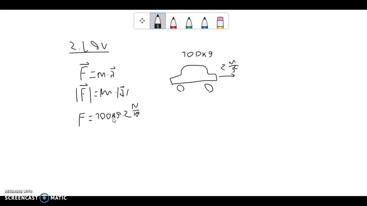 Fysik B - Newtons love og kraftbegrebet