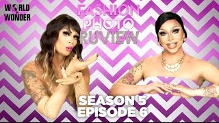 "RuPaul's Drag Race Fashion Photo RuView with Raja and Raven: Season 5 Episode 6 ""Favorite Body Part"""