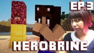 HEROBRINE TOTEM | Herobrine Survival | Episode 3