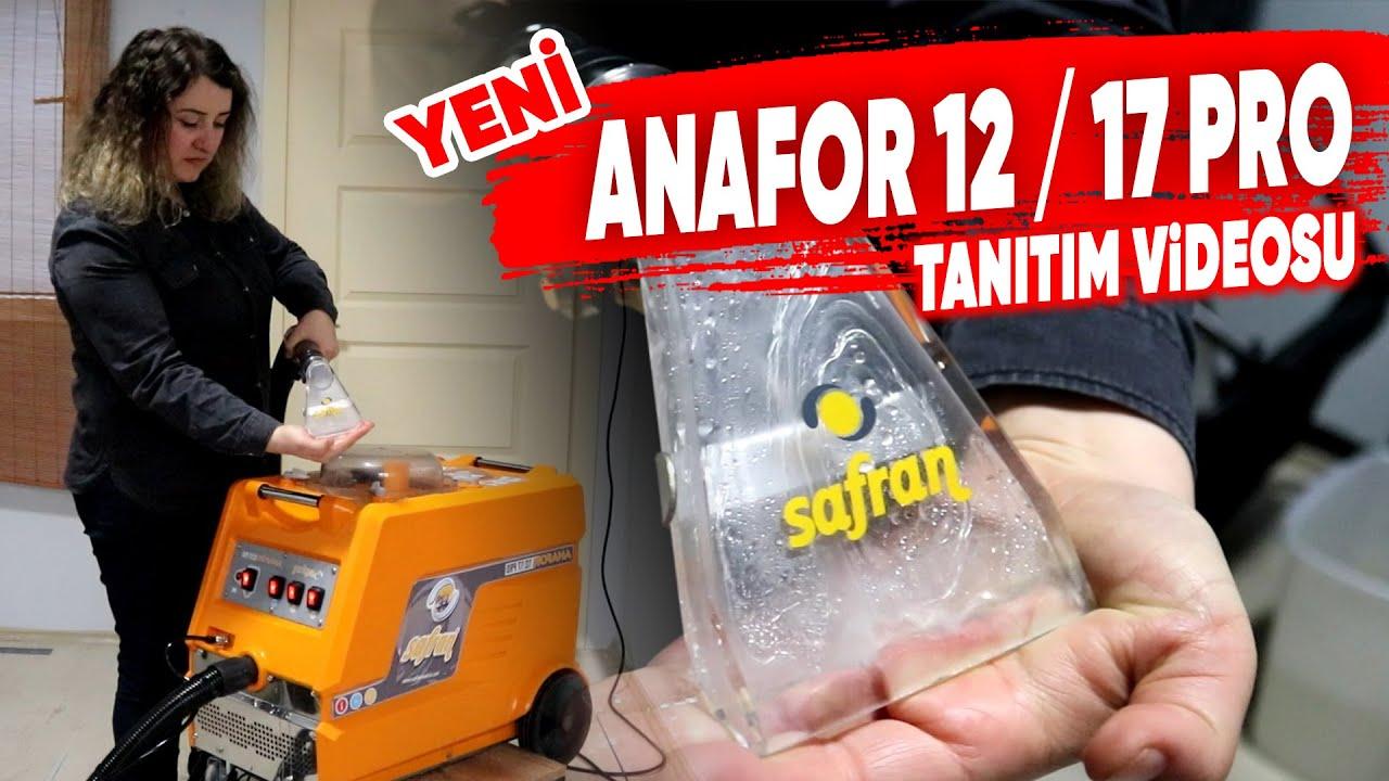 ANAFOR 12/17 PRO TANITIM VİDEOSU / KOLTUK YIKAMA MAKİNASI / SAFRAN MAKİNA