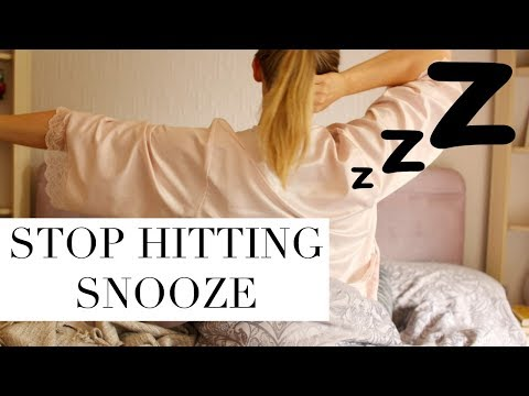 Never Hit Snooze Again! Tips To Wake Up Early and Stop Hitting Snooze