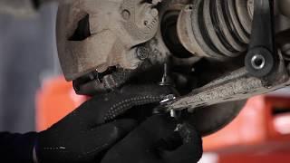 Cambiar Pastilla de freno delanteras y traseras SKODA OCTAVIA (1U2) - instrucciones en video