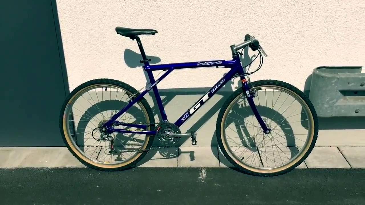 Gt Bicycles Backwoods Retro 1994 Vintage Mtb Youtube