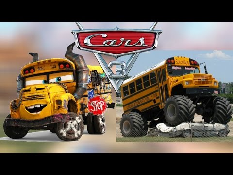 Cars 3 REAL LIFE!