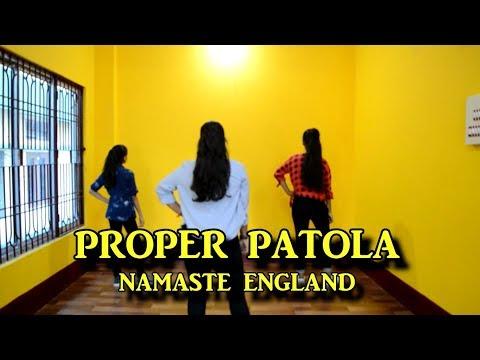 PROPER PATOLA | NAMASTE ENGLAND | Motion Dance Academy