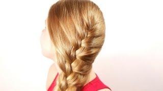 Frisuren mit Weben für langes mittlere Haar