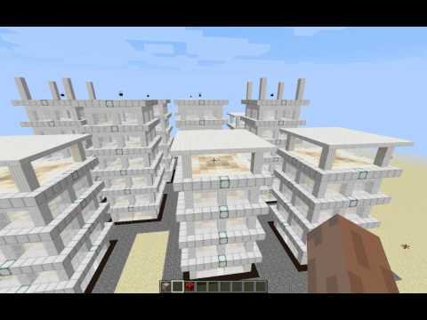 видео: Строим мегаполис за 1 минуту ( без модов в Minecraft )
