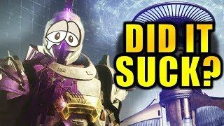 Destiny 2: Season of Dawn - Did It SUCK?