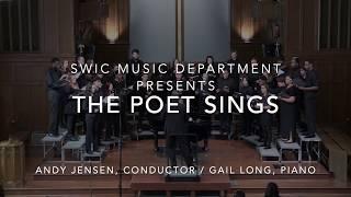The Poet Sings ~ SWIC (October 20, 2019)