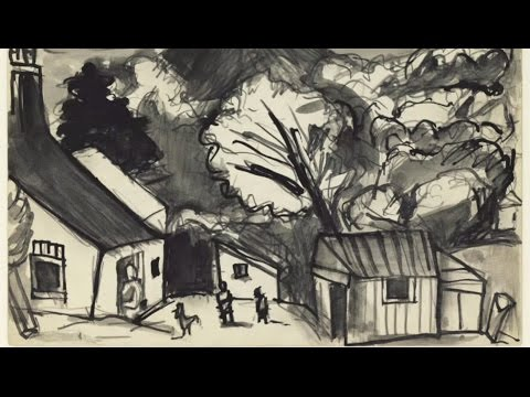 Josef Herman, Sketches of Wales | Animating the Archives
