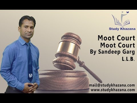 Moot Court by Sandeep Garg