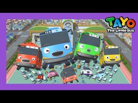 Tayo Lagu Pembukaan Tema Lebih Cepat l lagu untuk anak-anak l Hey Tayo! l Tayo bus kecil