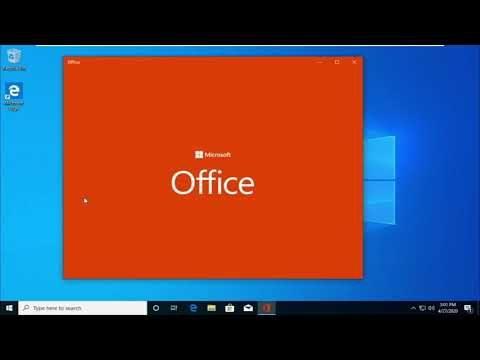 Windows 10 Pro Incl Office 2019 Mar 2020 Overview