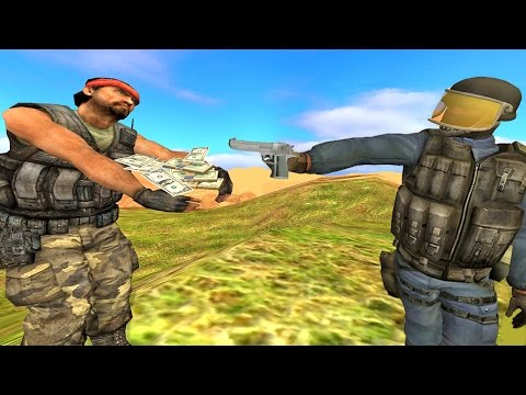 SMUGGLING DRUGS ACROSS THE BORDER!! Garry's Mod Roleplay (Gmod Mexican Border Patrol)