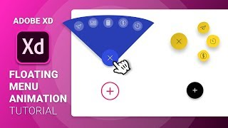 Floating Menu Animation in Adobe Xd | Auto Animate Tutorial | Design Weekly