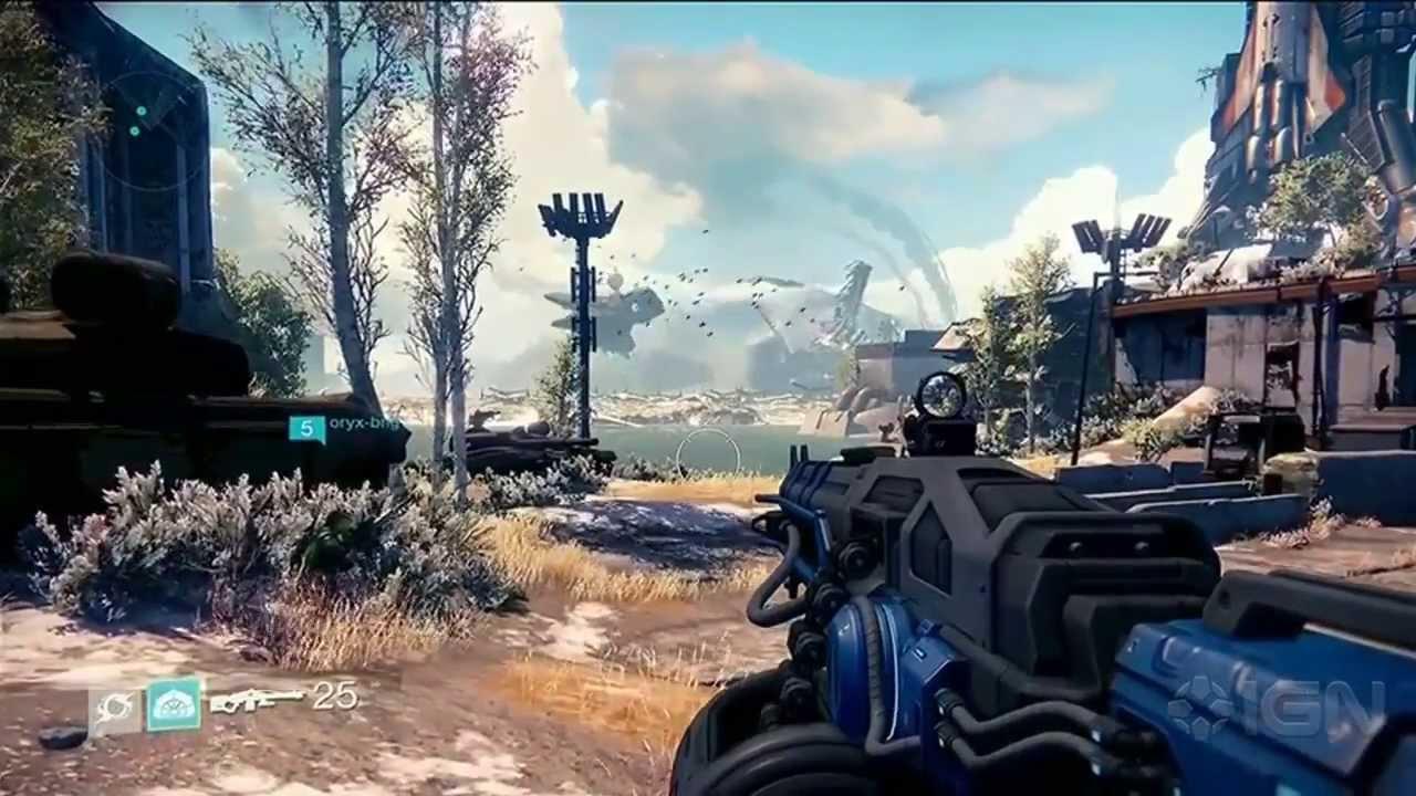 destiny gameplay revealed e3 2013 sony conference youtube