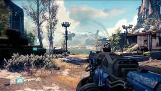 Destiny Gameplay Revealed - E3 2013 Sony Conference(Your first look at real gameplay from Bungie's new universe. Subscribe to IGN's channel for reviews, news, and all things gaming: ..., 2013-06-11T03:57:07.000Z)