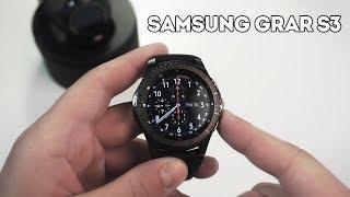 Samsung Gear S3 Frontier Edition — лучшие умные часы?
