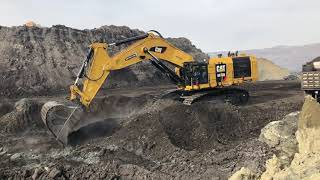 Amazing Cat 6015B Excavator Loading Trucks With Two Passes - Sotiriadis Brothers