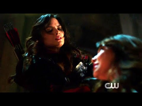 Arrow | Season 5 Finale | Nysa Fights Talia, and Deathstroke Helps | The CW thumbnail