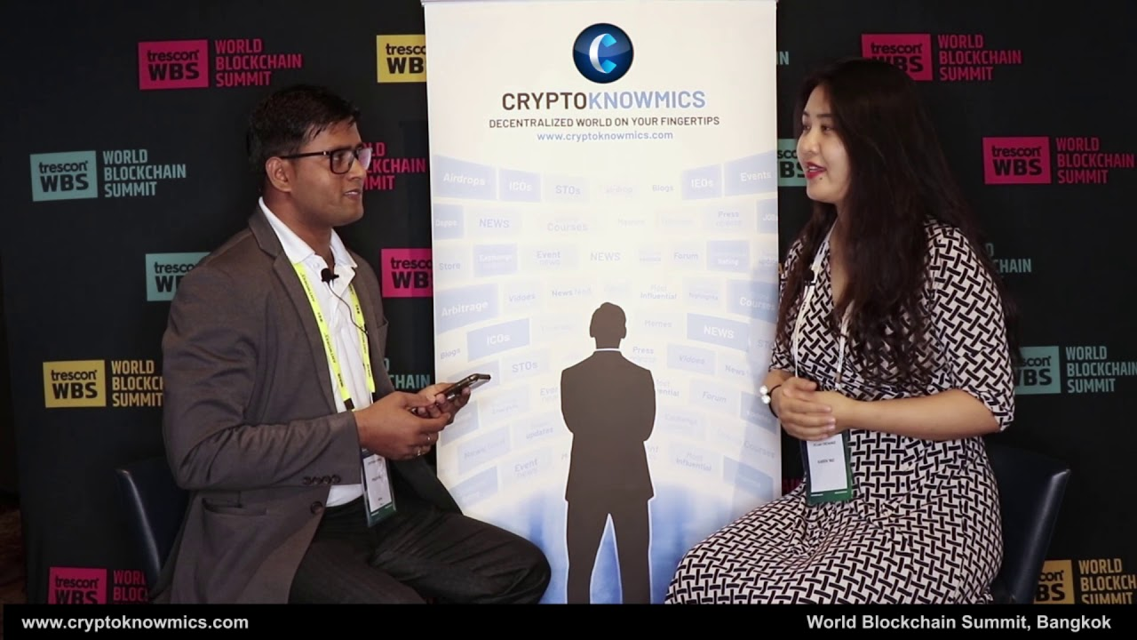 World Blockchain Summit Bangkok | Interwiew with Karen Yao