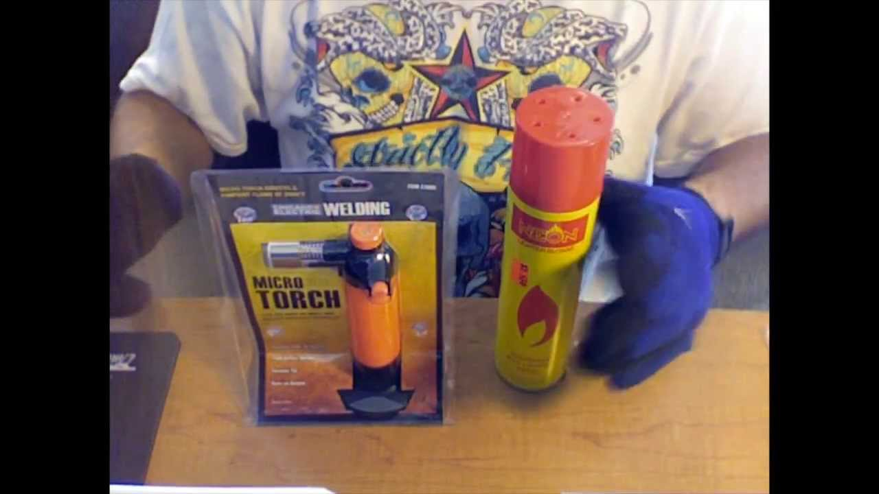 How to refill a hand-held butane torch w/ butane. - YouTube for Torch Lighter Refill  157uhy