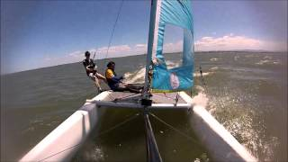 Nacra 4.5 Pitch Pole