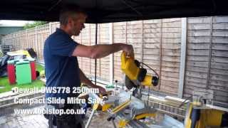 Dewalt Dws778 250mm Compact Slide Mitre Saw - A Toolstop Review