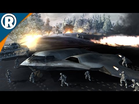 AMERICAN BOMBER DOWN - World in Conflict: Soviet Assault - Mission 12