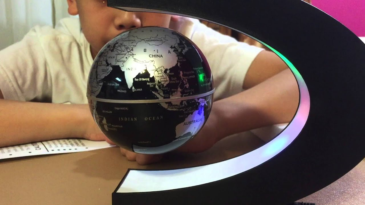 Levitation floating world map globe magnetic babrit spac youtube levitation floating world map globe magnetic babrit spac gumiabroncs Images