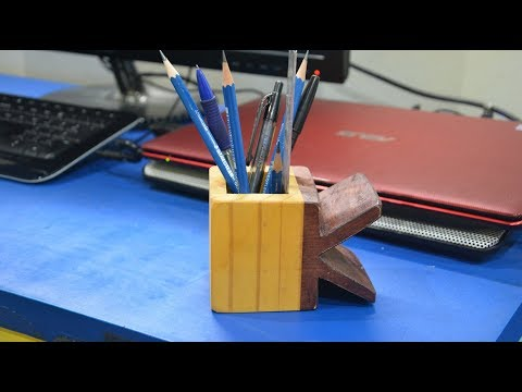 Tutorial: Wooden Pencil box