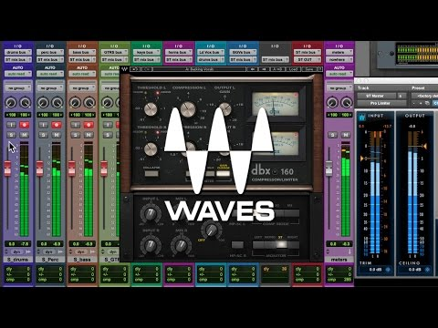 Waves dbx 160 Review Tutorial [PT-BR]