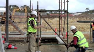 Supported Scaffold Training Video