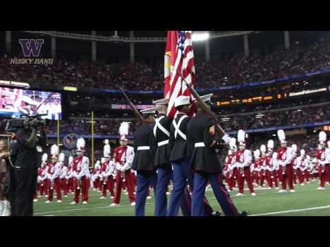 Husky Marching Band   Washington vs. Alabama   Pregame (12.31.16)
