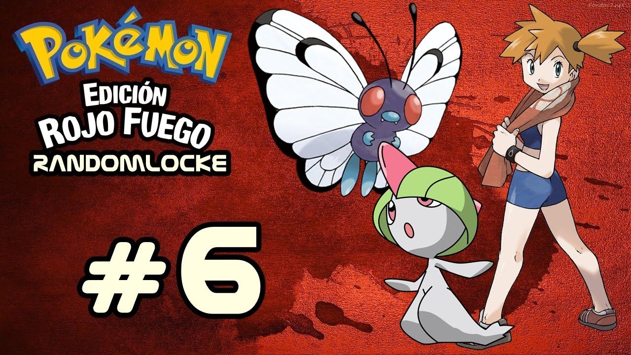 Pok mon rojo fuego randomlocke misty la segunda lider for Gimnasio 8 pokemon rojo fuego