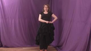 How to do flamenco footwork (flamenco dance lesson)