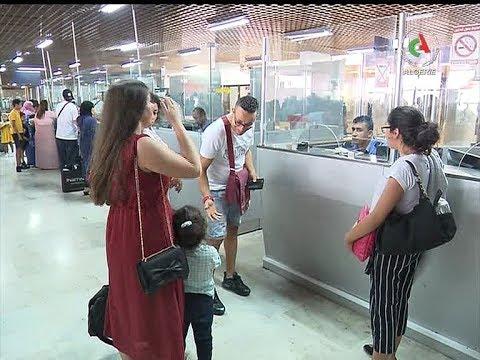 Retour des émigrés: un dispositif spécial  à l'aéroport d'Oran- Canal Algérie🇩🇿