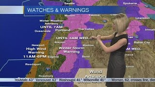 Tuesday Morning Weather Update March 7, 2017