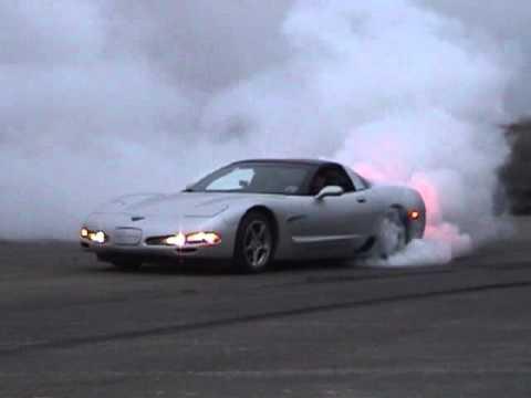 C5 Corvette Burnout
