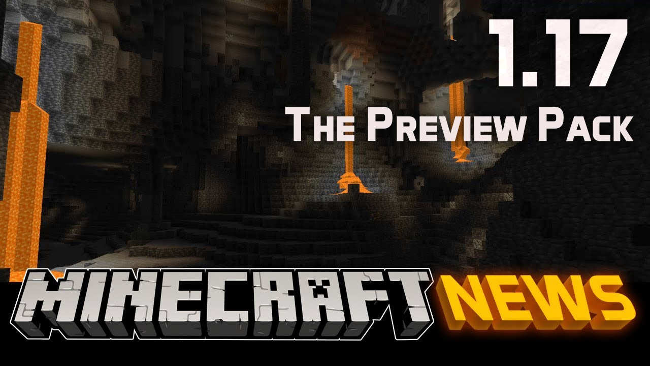 What's New in the Caves & Cliffs Preview Data Pack for Minecraft 1.17?