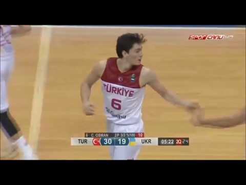 Cedi Osman 15 PTS 5 AST vs Ukraine