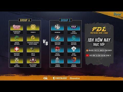 FDL: Vòng loại - Master | GameHome, VirusX, Nubboi, Paradise | Bảng A vs Bảng C