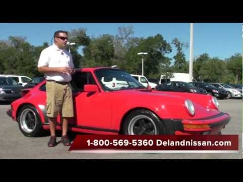 Sold ! 1987 Porsche 911 930 turbo DeLand Nissan