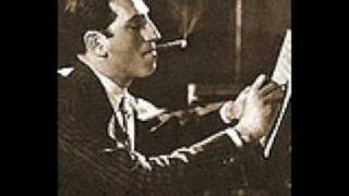 george gershwin playing his preludes and rhapsody in blue