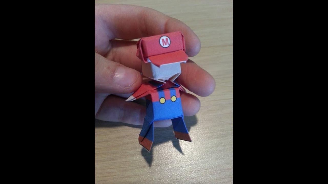 Origami Mario, Designed By Jo Nakashima - Not A Tutorial ... - photo#22