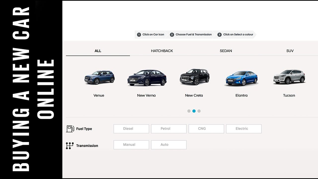 How To Buy A Car Online Hyundai Click To Buy Special Feature Autocar India Youtube