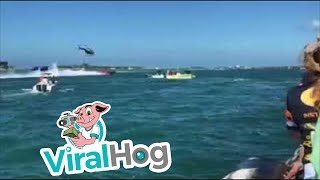 Funny Video: Wild Crash at Super Boat International 2017