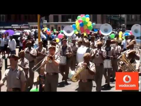 Vodacom Top Super Peer Color Charity Walk -- Kopano Macwane